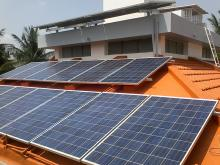 5KW solar rooftop at sidhartha layout in Mysore