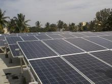 biggest in Mysore 48 KW Rooftop Solar Inverter at Madhva Shenoy Kalyana mantap Mysore